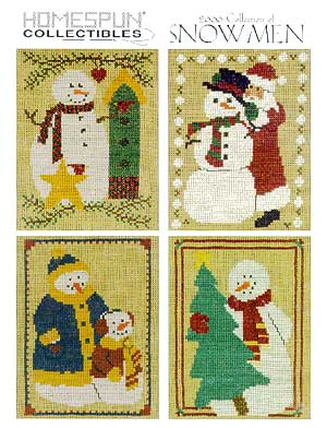 2000 Collection Of Snowmen