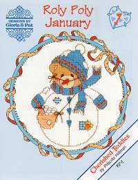 Roly Polys-January (Cherished Teddies)