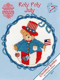Roly Polys-July (Cherished Teddies)