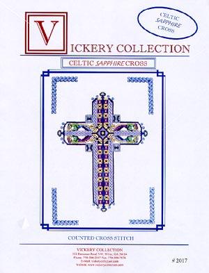 Celtic Sapphire Cross