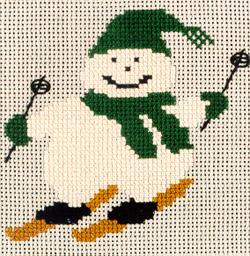 Simply...Winter Snowman