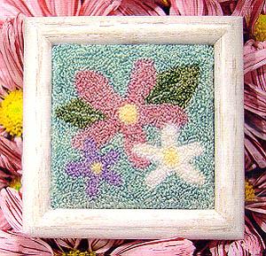 May Flowers-Punchneedle