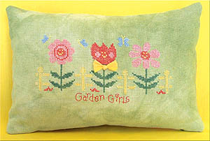 Garden Girls Pillow Kit (Plumpers To Go #3)