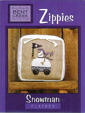 Zippies-Snowman Flatbed