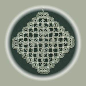 Spider Web Variation Ornament