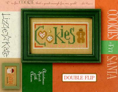 Christmas Double Flip - Cookies/Santa