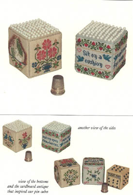 Pair Of Pin Cubes