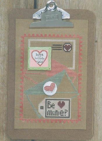 Clip Art-Love Letters (w/paper& buttons)