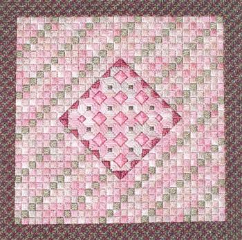 Rose Quartz (Counted Needlepoint)