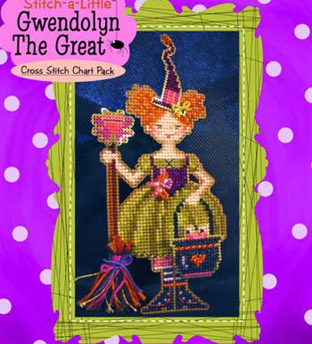 Stitch-A-Little Gwendolyn TheGreat (chart only)