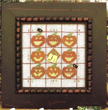 Alphabet Baubles-J Is For JackO Lantern