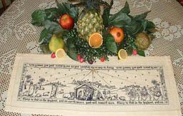 Nativity Story - Runner TableTopper