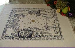 Nativity Story - Square TableTopper