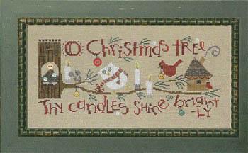 Christmas Branch-Cardinal