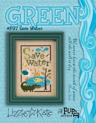 Green Flip-Save Water
