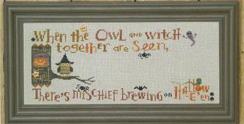 Halloween Branch-Hooty Owl