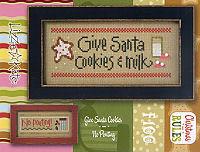 Christmas Rules-Give Santa Cookies/No Pouting