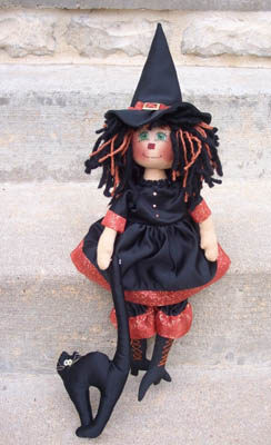 Hilda The Witch (Rag Doll Pattern)