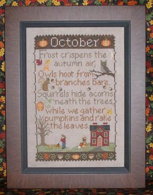 Monthly Samplings: October