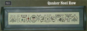 Quaker Noel Row