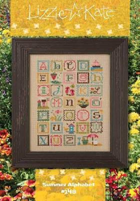 Summer Alphabet (w/charm)