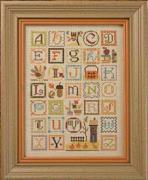 Autumn Alphabet (w/emb)