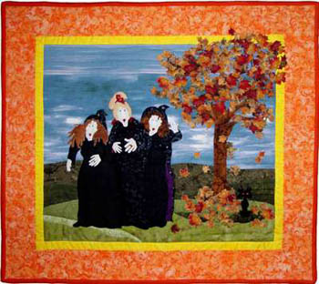 Witches Party (Quilt)
