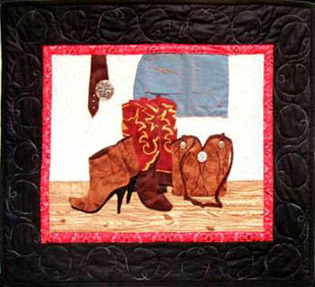 Cowgirl Accessories (Quilt)