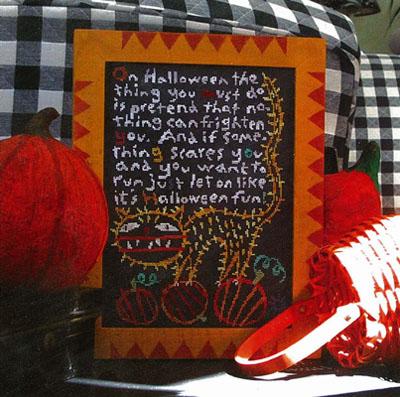 Halloween Fun (w/fabric)