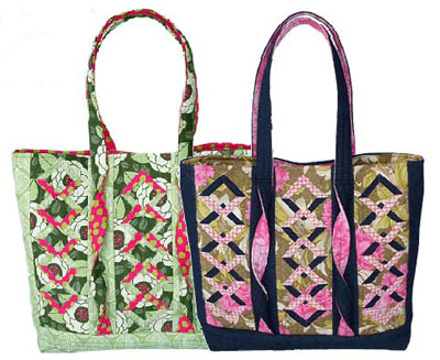Twistin Diamonds Tote