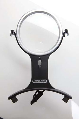 Lighted Hands Free Magnifier