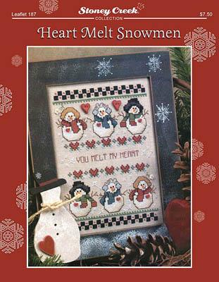 Heart Melt Snowmen