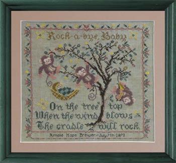 Tree Top Birth Sampler