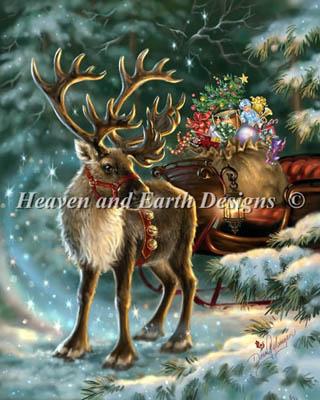 Enchanted Christmas Reindeer