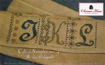 Calico Sampler #4