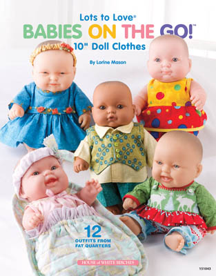 "Babies On The Go (10"" Doll Clothes)"