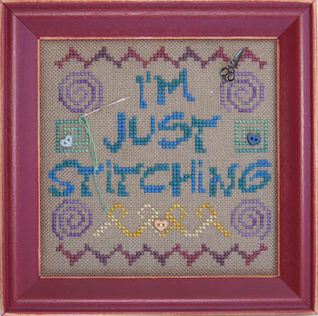 Just Stitching (w/chms)