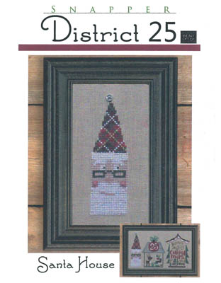District 25-Santa House (w/btn)