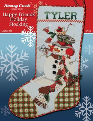 Happy Friends Holiday Stocking