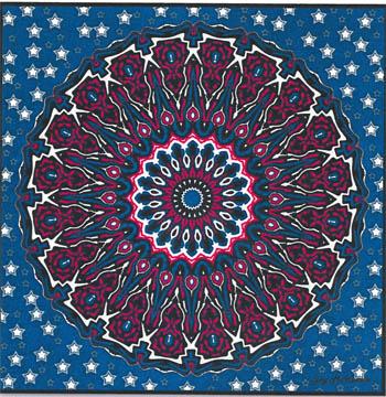 Patriotic Mandala