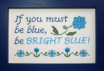 Be Bright Blue