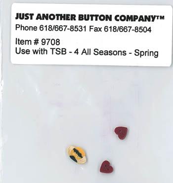 4 All Seasons-Spring Button Pk(9708)