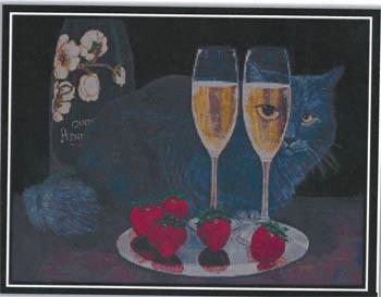 Perrier Jouet Et Le Chat