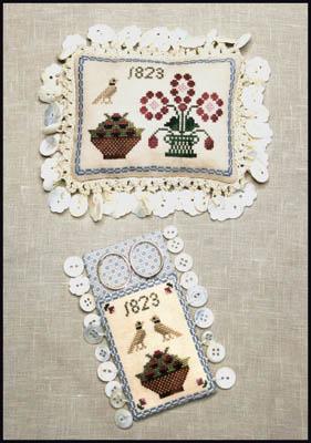 Ann Blockley's Pin Cushion & Scissor Keep