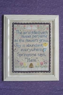 Springtime Says Hello