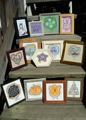 Shape-y Wreaths (13 designs)