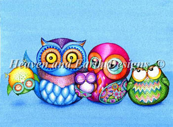 Crazy Wonderful Owl Family