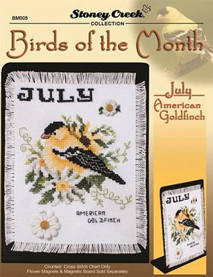 Bird Of The Month-July (American Goldfinch)