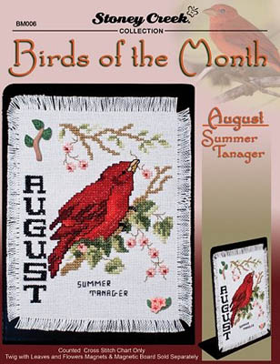 Bird Of The Month-August (Summer Tanager)