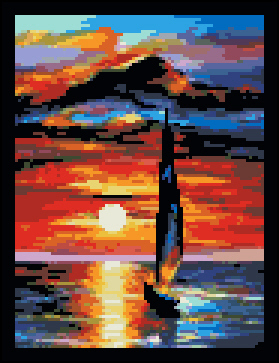 Toward The Sun (XS & Needlepoint)